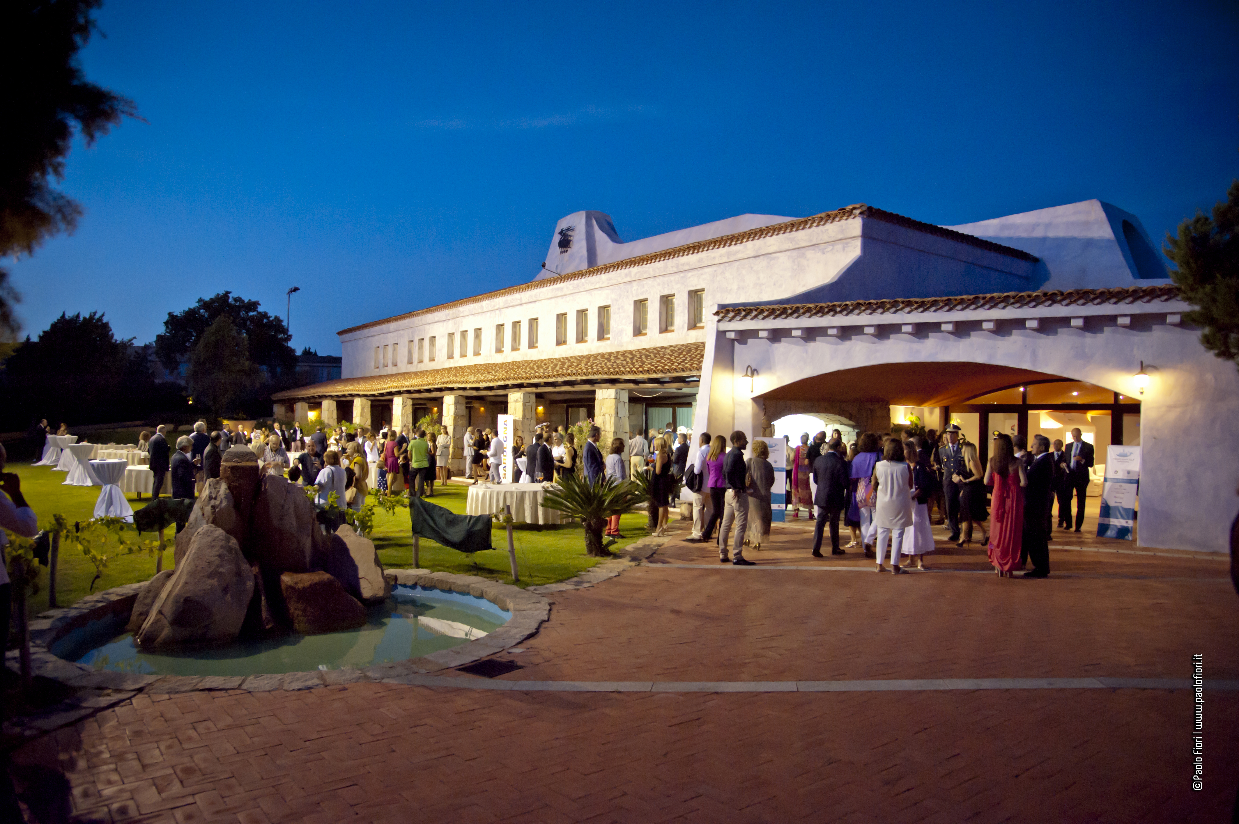 La location: Porto Cervo - Conference Centre