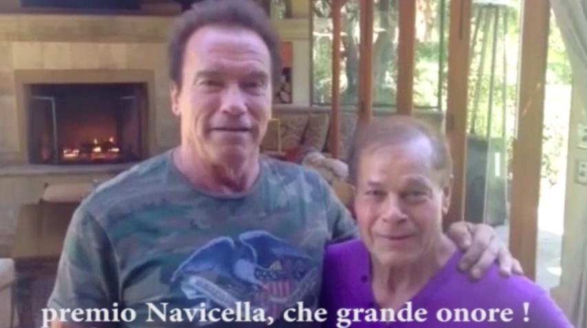 Video: Schwarzenegger saluta la Sardegna